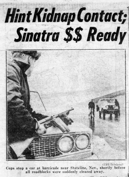 Nugget #127 C Sinatra kidnapped Money Ready sized