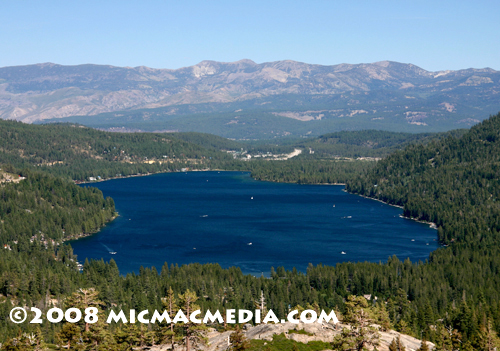 Donner Lake Summer Nugget 146 a Donner Lake View