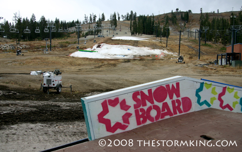 Nugget #155 A Boreal Ski Area before Storm