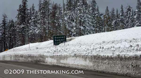 Nugget #167 D Donner Pass Sign Buried