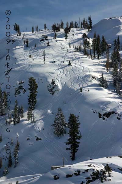 Nugget #167 G Skiing Below Donner Pass