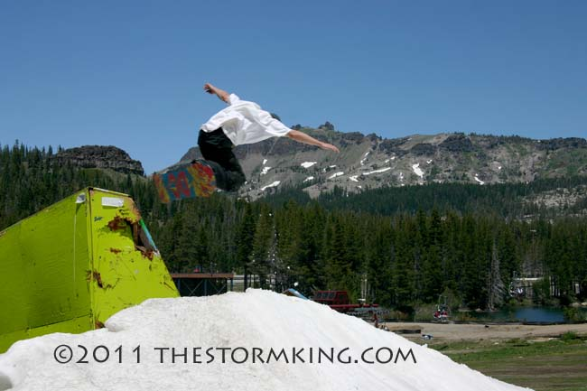 Nugget #212 Boreal Boarder  Jumping