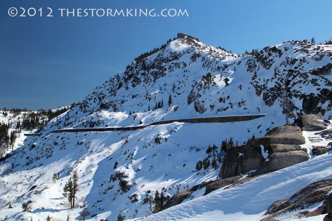 Nugget #225 Donner Peak  Snowsheds