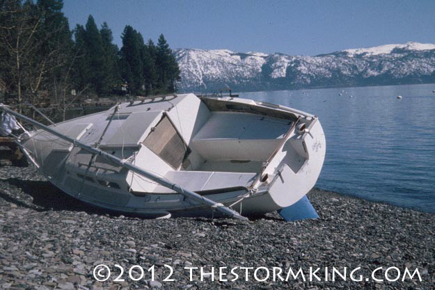 Nugget #226 Beached boat Carnelian  Bay