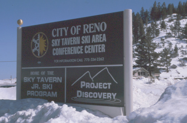 Nugget #51 B Sign Sky Tavern Jr. Ski Program005-01