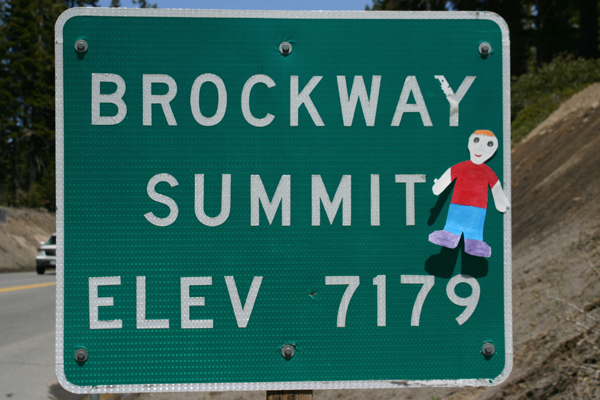FS 4 Brockway Summit sign print